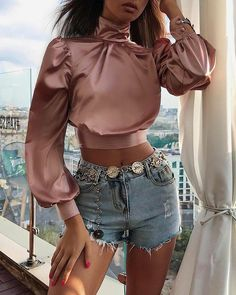 Classy Outfits, Stylish Outfits, Beautiful Outfits, Fashion 2020, Look Fashion, Womens Fashion, Fashion Design, Mode Outfits, Girl Outfits