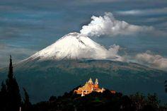 Popocatépetl Volcano, Puebla - State of Mexico