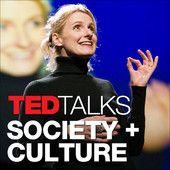 PODCAST: TEDTalks Society and Culture    Thought-provoking videos about life and being human, with ideas from business leaders, psychologists and researchers speaking onstage at the TED conference, TEDx events and partner events around the world. You can also download these and many other videos free on TED.com, with an interactive English transcript and subtitles in up to 80 languages. TED is a nonprofit devoted to Ideas Worth Spreading.