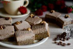 Koláč s vlašskými ořechy a kávovým krémem Place Cards, Place Card Holders, Recipes, Recipies, Recipe