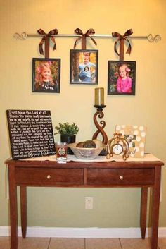 There are many ways to hang multiple pictures in your apartment without multiple holes!