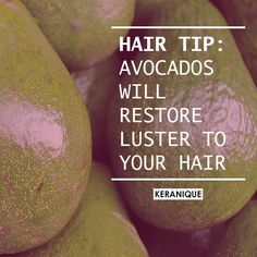 Hair Tips, Hair Hacks, Ripe Avocado, Wet Hair, Vitamins And Minerals, Your Hair, Egg, How To Apply, Facebook