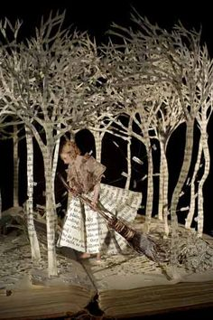 """The Girl in the Wood"" by Su Blackwell"