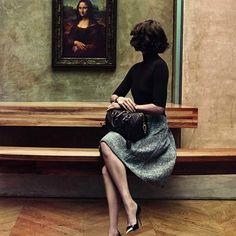VOGUE AUSTRALIA: Louis Vuitton's new Muse - Sofia Coppola