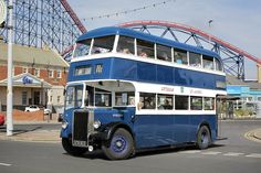 Blackpool England, Double Decker Bus, Bus Coach, Tow Truck, Limo, Old Trucks, Coaches, Taxi, Old Cars