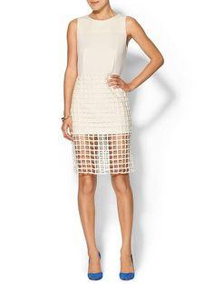 Caged Sheath Dress