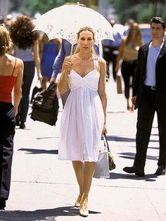 100 looks que no recuerdas (o has intentado olvidar) de Carrie Bradshaw en Sexo en Nueva York #seriesdemoda