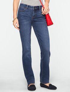 Talbots - Slimming Signature Dusk Wash Straight-Leg Jeans | Signature Fit |