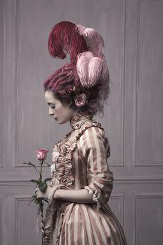 Pictures by Pauline Darley. via http://www.misspandora.fr/lanti-justine-ou-les-delices-du-boudoir/