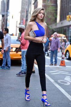 Gigi Hadid's New York Style.