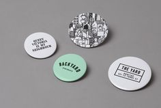 Studio Hi Ho: Backyard Apartments Identity and Collateral