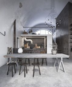 Loft gris / Blog Atelier rue verte /