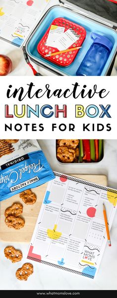 """Printable Interactive Lunch Box Notes That Help Answer Your Question: """"How Was Your Day?"""" - Free Printable Lunch Box Notes for Kids Kids Lunch For School, School Ideas, School Lunches, Kindergarten Lunch, Best Bento Box, Jokes For Teens, Lunch Box Notes, Kid Friendly Meals, Diy Crafts For Kids"""