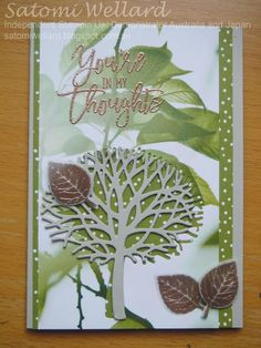 Crazy Crafters Blog Hop-Thoughtful Branches