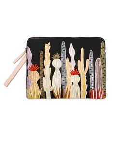 Lizzie Fortunato Safari Clutch | Prickly Pear