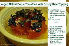Contest and Vegan Recipe - Garlic Baked Tomatoes - Shawna Coronado by Massel blogger
