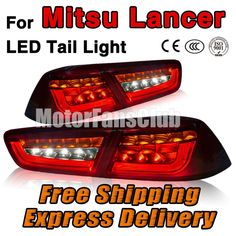 (303.95$)  Know more - http://ait1l.worlditems.win/all/product.php?id=32799094787 - Car Styling Red LED Tail Light Lamp Assy For Mitsubishi Lancer Evolution EVO X 2008 2009 2010 2011 8330A111 8330A476 8330A107