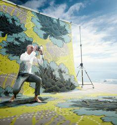 Floorfashion by Muurbloem | Muurbloem ontwerpt voor ege carpets (DK) deze nieuwe collectie 2011 | Fashion wereldwijd is inspiratie voor deze collectie | Carpet: Yukata | Refnr: RF5275B1234 | www.egecarpets.com (foto: Matthijs van Roon)