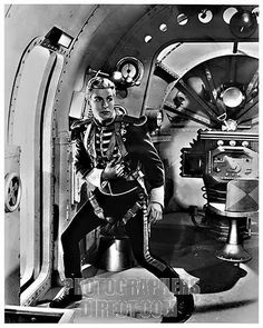 Flash Gordon: Even though it was really old when I first saw it, we watched re-runs of the original show as a family. These old pics bring back good memories.