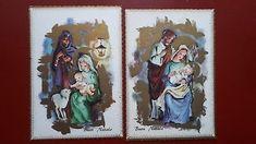 Lotto Di 2 Belle  Cartoline Auguri  Entra Altre Foto Holy Night, Bella, Holi, Christmas, Cards, O Holy Night, Xmas, Holi Celebration, Navidad