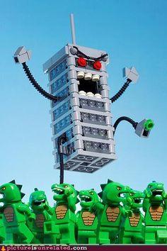 Legos vs. Godzilla