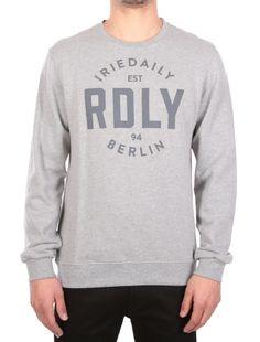 RDLY Crew [grey-mel.] // Pre Spring 2016 - DREAM YOUR DREAM: http://www.iriedaily.de/women-id/men-prespring-2016/