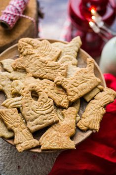 Xmas, Cookies, Food, Almond Cookies, Crack Crackers, Christmas, Biscuits, Essen, Navidad