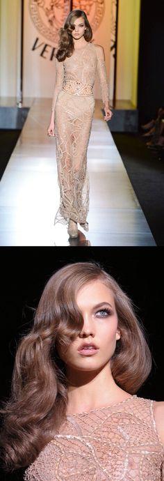 Karlie kloss Versace