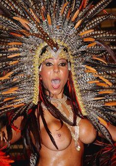 Carnival brazil boobs