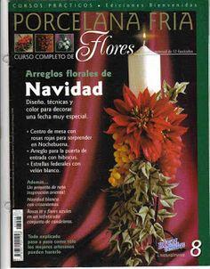 Todo Para Manualidades: Flores Porcelana Fria