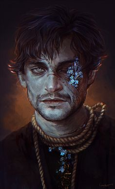 Will Graham by LoranDeSore on DeviantArt Hannibal Hannibal Series, Hannibal Lecter, Nbc Hannibal, Fantasy Male, Dnd Characters, Fantasy Characters, Character Portraits, Character Art, Character Reference