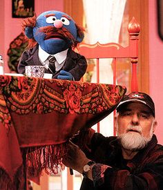 """""""There's an art to helping other people be funny."""" –Jerry Nelson, puppeteer for Mr. Jim Henson Puppets, Jim Hanson, Frank Oz, Custom Puppets, Childhood Characters, Sesame Street Characters, Fraggle Rock, Mr Johnson, Marionette"""