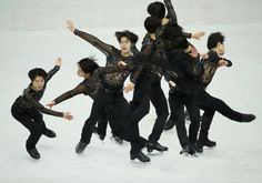 Tatsuki Machida of Japan performs during the men's short programme at the ISU Grand Prix of Figure Skating Final in Sochi December 7, 2012. Picture taken using multiple exposures. REUTERS/Pawel Kopczynski