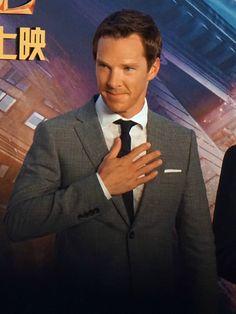 DOCTOR STRANGE ~ Benedict Cumberbatch. Shanghai China premiere. October 16, 2016.