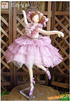 Beauty dress sewing for dolls Dancing Dolls, Tutu Rose, Ballerina Doll, Doll Quilt, Sewing Dolls, Fairy Dolls, Soft Dolls, Diy Doll, Cute Dolls