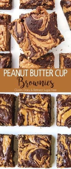 Peanut Butter Cup Brownies – The Dish On Healthy