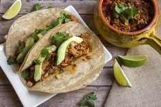 Slow Cooker Pork Tacos Skinny Mom Where Moms Get the Skinny on Healthy Living Healthy Slow Cooker, Slow Cooker Pork, Slow Cooker Recipes, Crockpot Recipes, Cooking Recipes, Healthy Recipes, Healthy Meals, Healthy Routines, Healthy Tacos