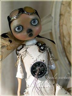 steampunk art doll by Janny Dangerous