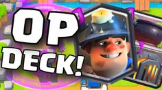 Kombinasi Battle Deck Miner di Clash Royale