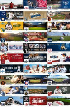 Facebook cover photos from Opening Day for all 30 MLB teams
