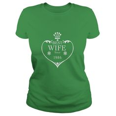 Best Wife Since 1986 31st wedding anniversary gifts Shirts #gift #ideas #Popular #Everything #Videos #Shop #Animals #pets #Architecture #Art #Cars #motorcycles #Celebrities #DIY #crafts #Design #Education #Entertainment #Food #drink #Gardening #Geek #Hair #beauty #Health #fitness #History #Holidays #events #Home decor #Humor #Illustrations #posters #Kids #parenting #Men #Outdoors #Photography #Products #Quotes #Science #nature #Sports #Tattoos #Technology #Travel #Weddings #Women