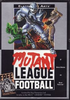 Mutant League Football for the Sega Genesis. This classic game has been cleaned, tested, and is backed by our 90 day no questions asked returns policy! Free Football, Football Usa, Football Humor, Used Video Games, Sega Genesis Games, Pc Engine, Retro Videos, Sports Games, Ea Sports