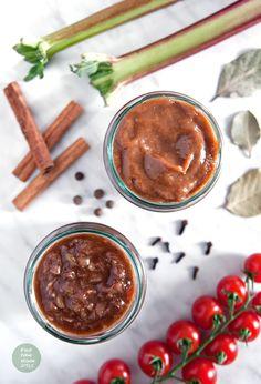 Spicy ketchup with rhubarb / Korzenny ketchup z rabarbarem