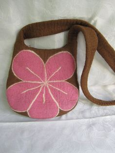 Felted  Bag by cityofangel on Etsy, $48.00