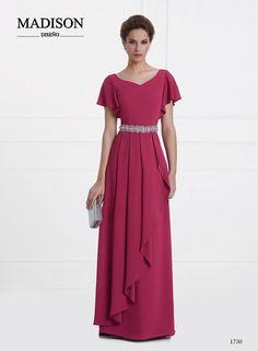 vestido de fiesta largo morado