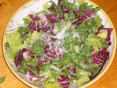 Pizzeria mozza. Tricolore Salad with Parmesan & Anchovy Dressing