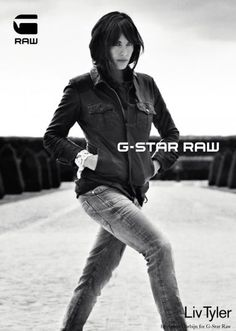 Liv Tyler for G-Star Raw, by Anton Corbijn