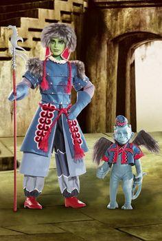 BARBIE WINKIE GUARD & WINGED MONKEY IN THE WIZARD OF OZ NEW HTF #Barbie