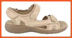 a0099df455ec Clarks Women s Clarks Morse Tour M US. Sporty sandal featuring three  adjustable hook-and-loop straps and padded footbed.