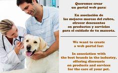 Queremos crear un portal web para #emprendimiento #mascota #startup #peru #startupperu #pet #geek